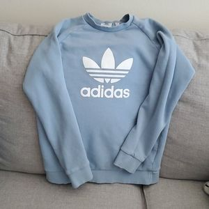 Oversized Adidas sweater